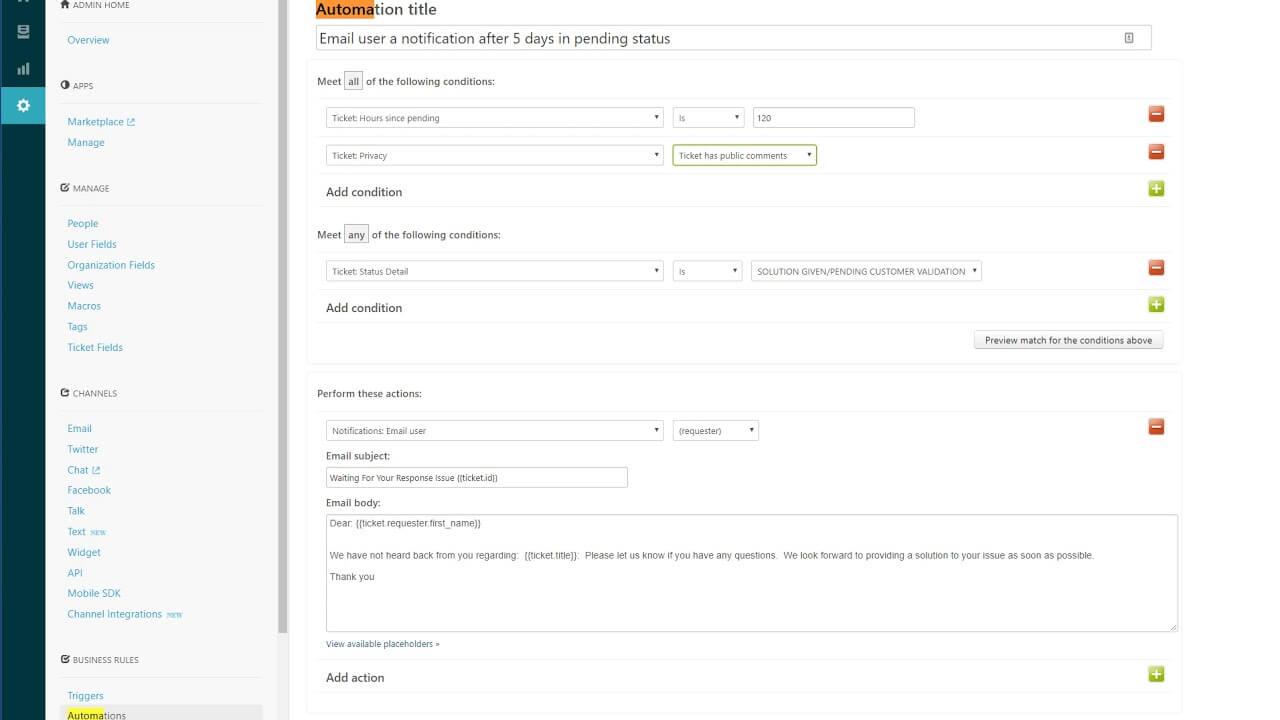 Jira Service Desk vs Zendesk automation