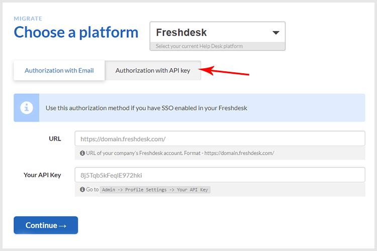 Freshdesk/Freshservice SSO