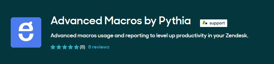Advanced Macros by Pythia