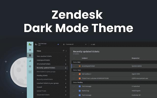 Dark Mode - Zendesk Dark Mode Theme