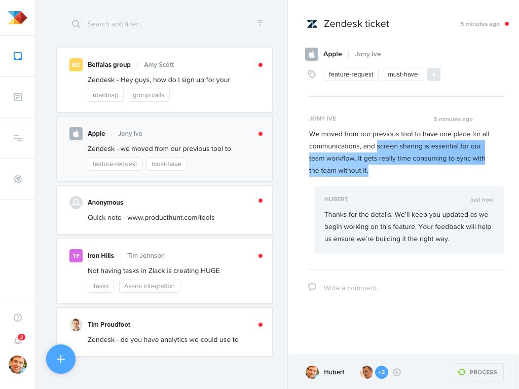 Productboard for Zendesk Screenshot 1