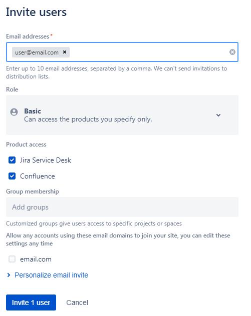 Add users to Jira