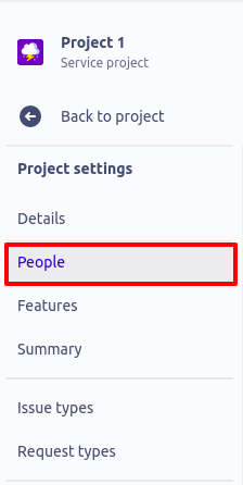jira service management project settings