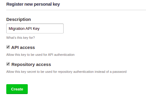 Learn how to create a new API key in Assembla