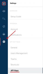 Find your Kustomer API key