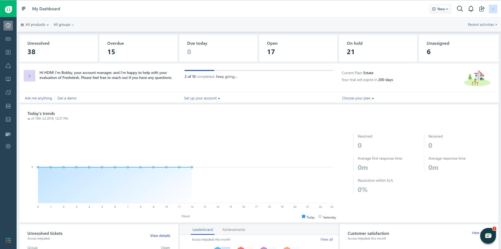 Freshdesk Mint UI