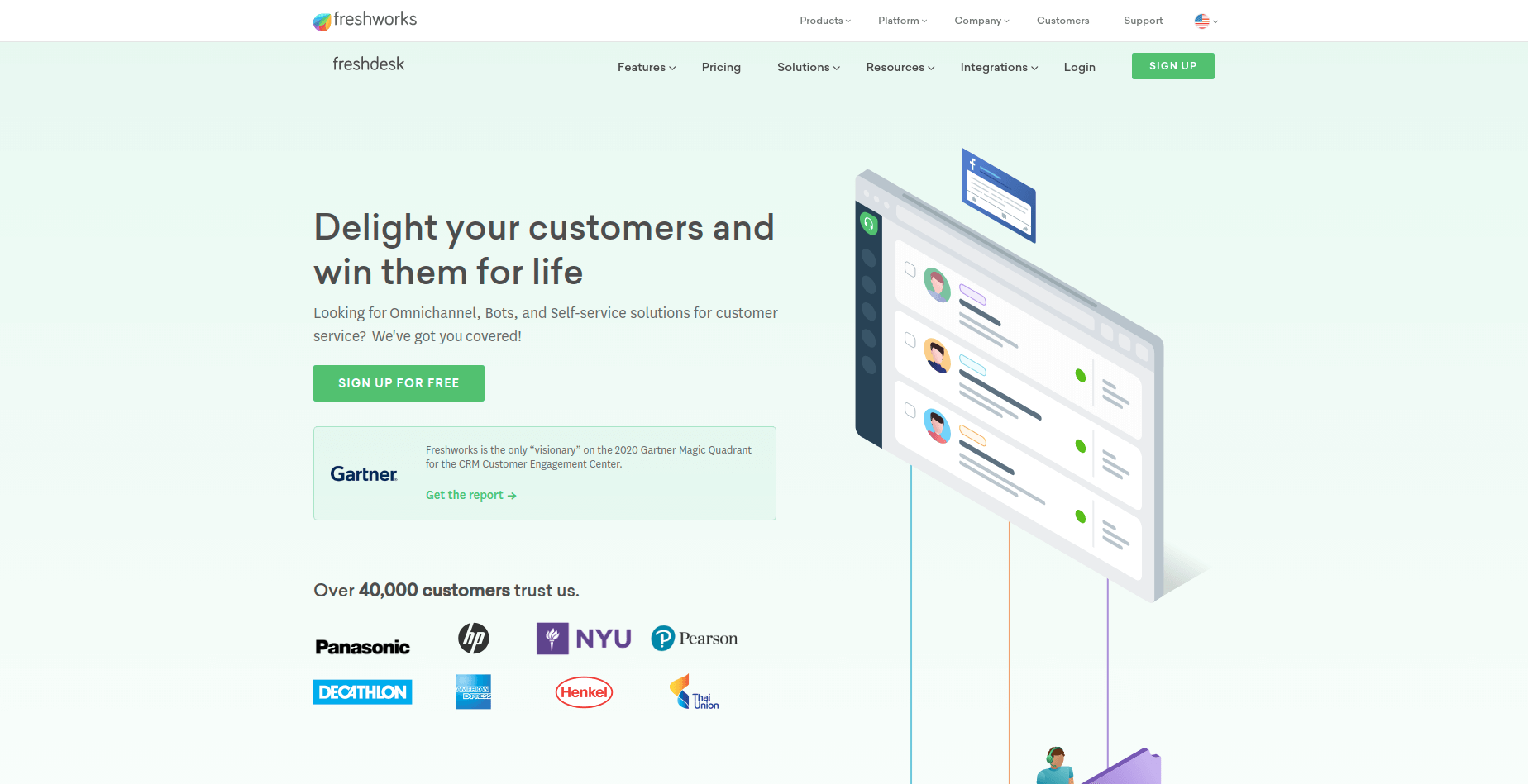 Freshdesk Screenshot