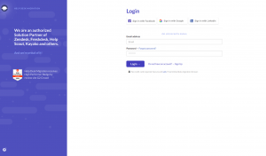 How to sign up to a migration tool