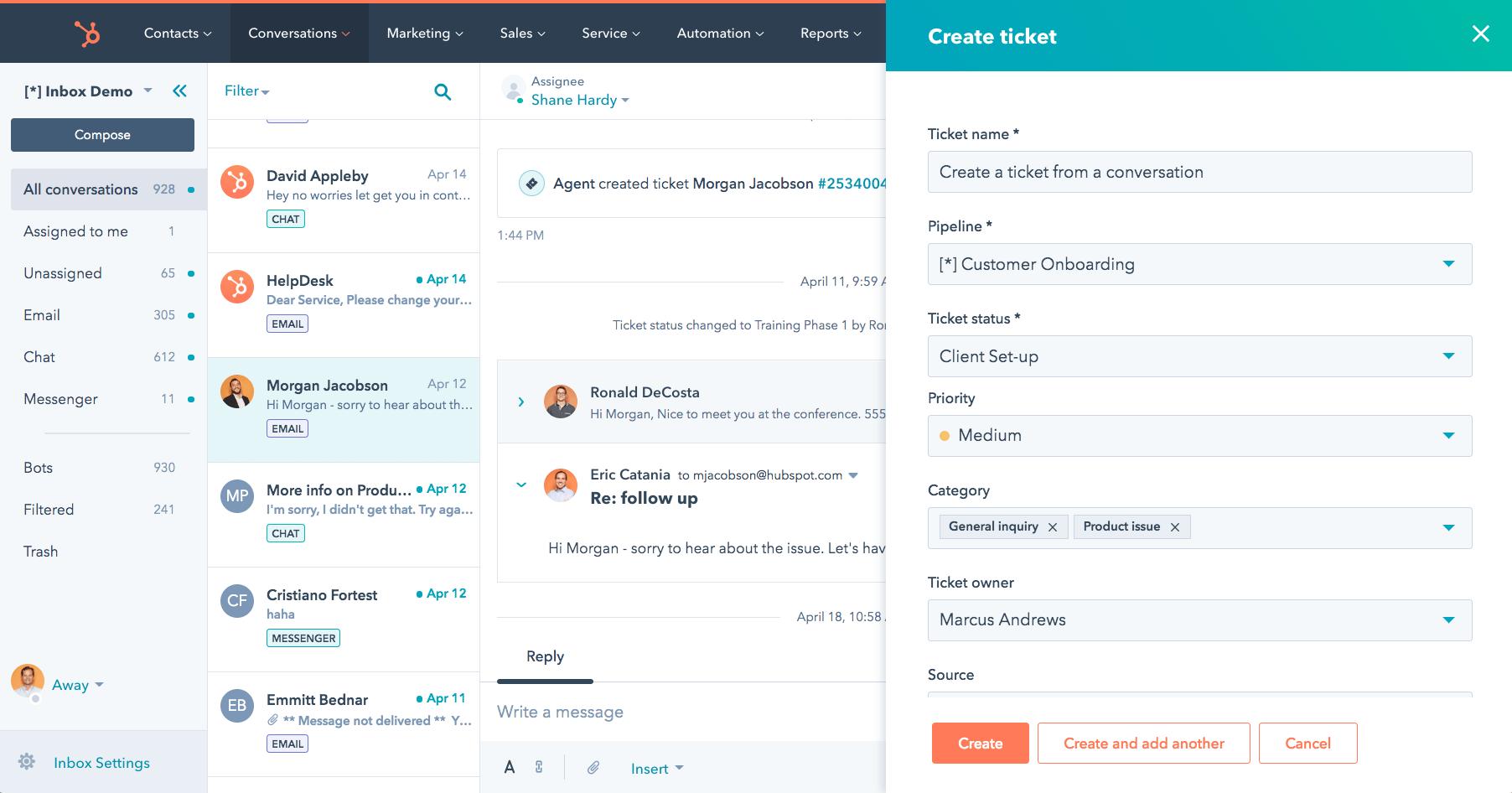 HUbSpot Service Hub Overview