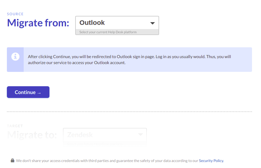 Export OUtlook emails automatically