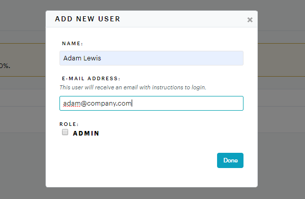 How to add a new user to Groove