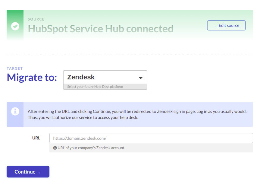 Connecting Zendesk as a future platform