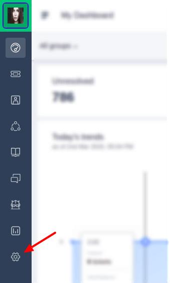 Admin section in Freshdesk