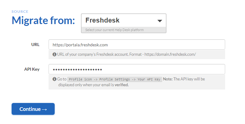 Merging Freshdesk accounts