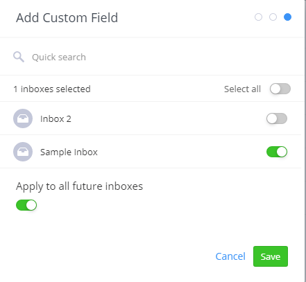 Add custom field in Teamwork Desk