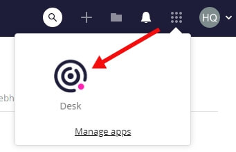 How to switch to Teamwork Desk