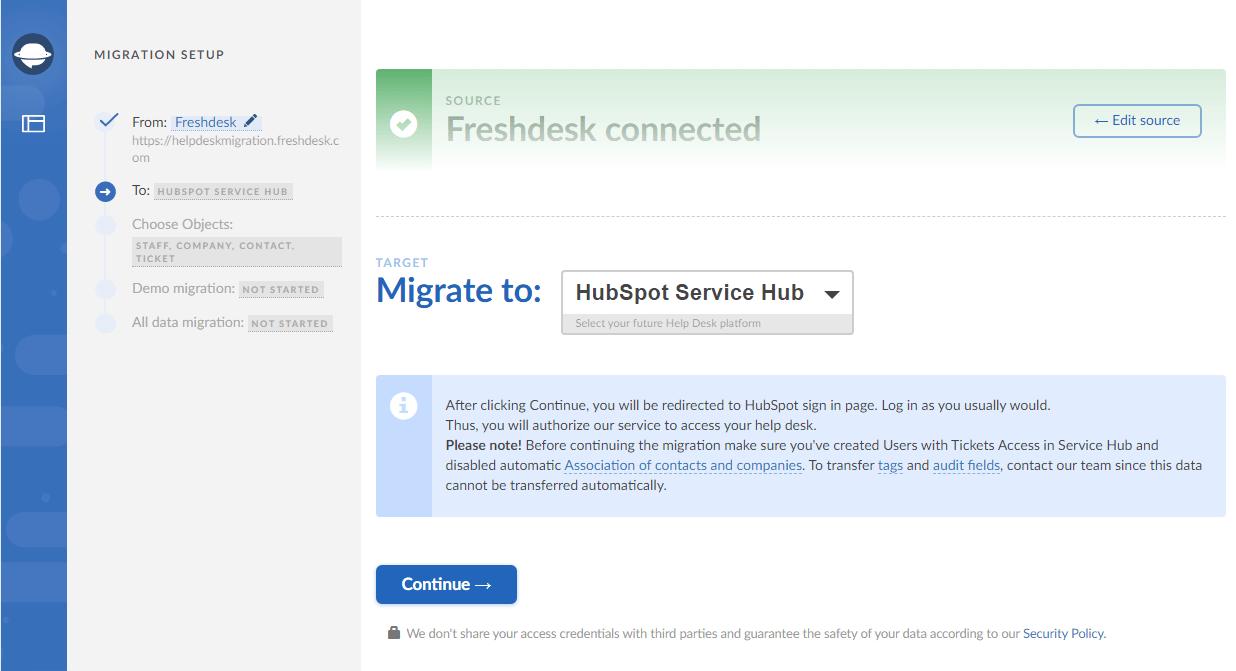 Hubspot migration plan