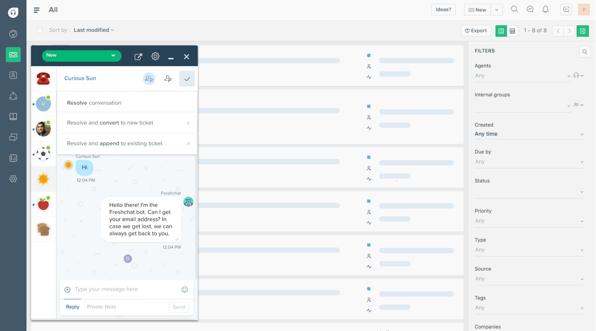 team inbox screenshot
