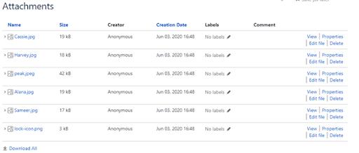 Finding article attachments in Jira Atlassian