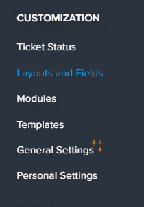 To show where layouts and fields are placed