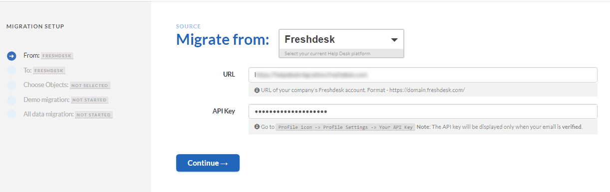 Freshdesk source platform