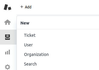 Adding a new user in Zendesk