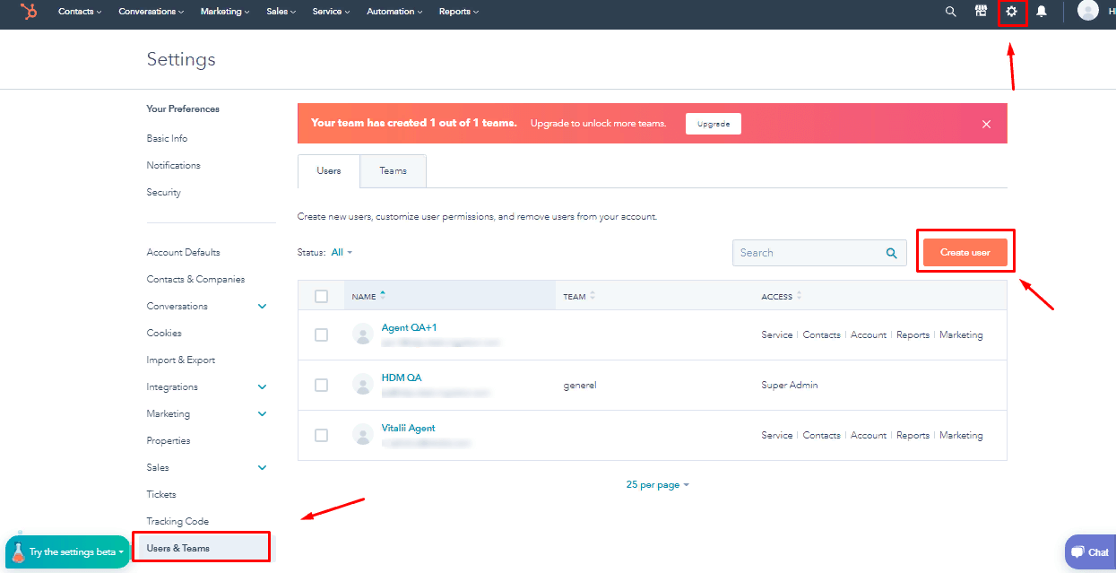 how to add agents in hubspot