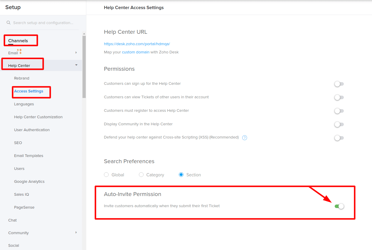 How Can End-users Access a Portal in Zoho Desk After the Data Migration