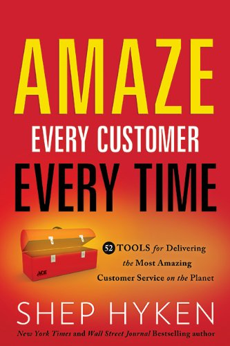Amaze Every Customer Every Time Book Cover