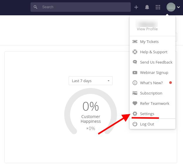 Custom fields Teamwork Screenshot