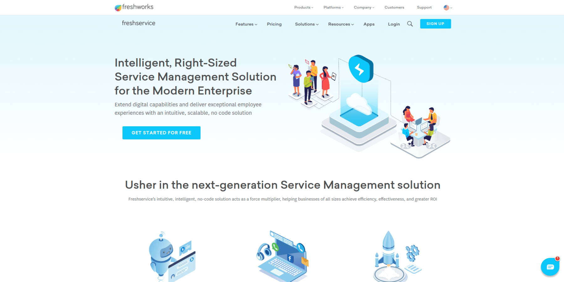 Freshservice Screenshot